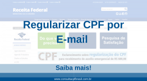regularizar cpf por e-mail