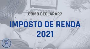 declaração imposto de renda 2021